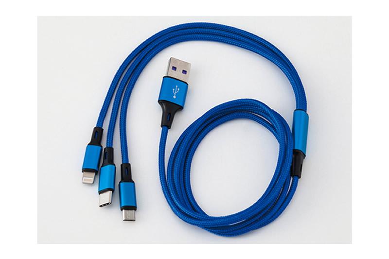 3 in 1 USBケーブル